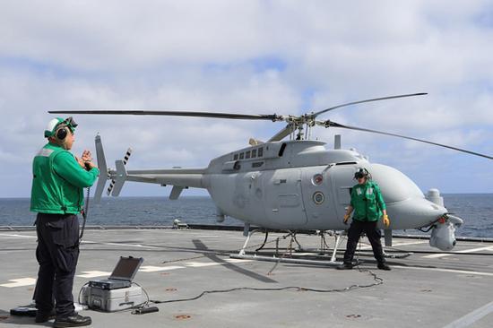 美军新型舰载无人机形成战力 将于2021年装备濒海舰