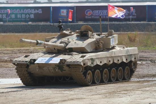 VT-2B外贸主战坦克