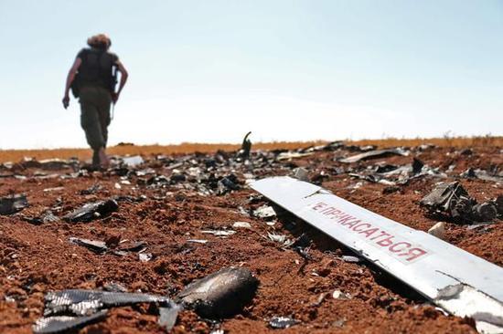 被击落的俄罗斯无人机上被发现有中国、以色列等许多国家的相关部件