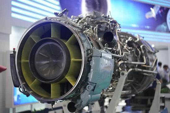 图为TV3-117涡轴发动机
