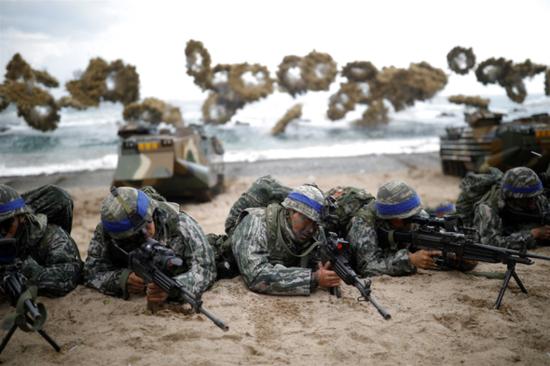 新冠疫情惡化之際美韓重啟軍演 美媒:可能激怒朝鮮