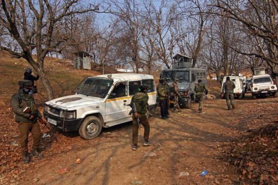 印控克什米尔地区的印军武装力量