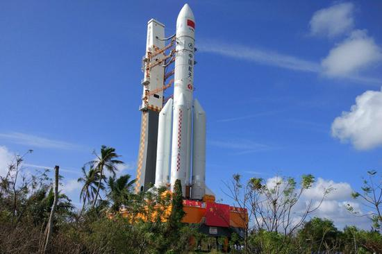 中国长征5号火箭