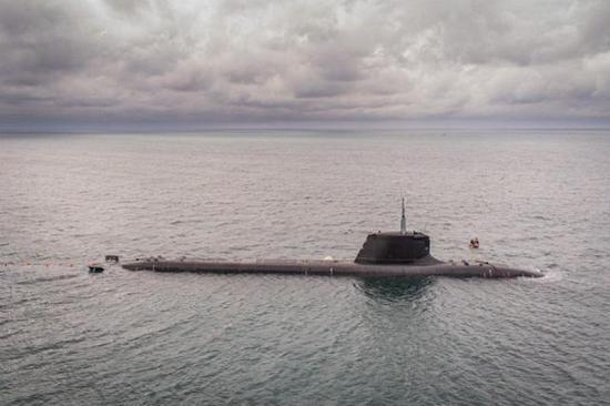 资料图:法国梭鱼级攻击核潜艇