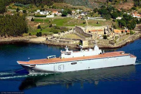 西班牙的通例舰艇建造实力不可幼觑