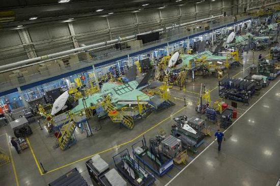 F-35的生产线