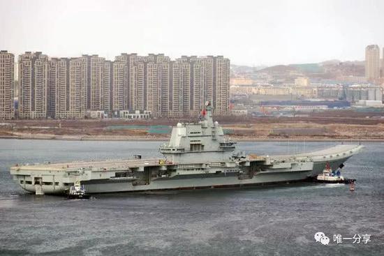 完成四次海试国产航母已经入交付阶段