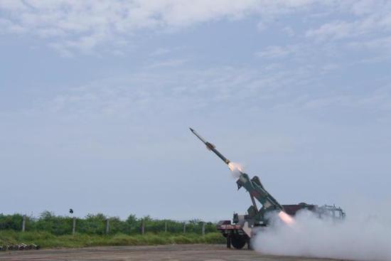 QRSAM防空导弹原料图