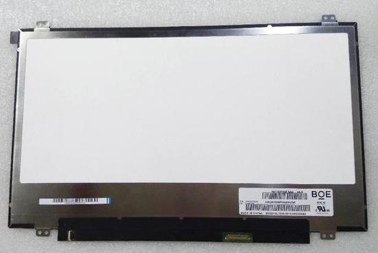 图为京东方为苹果笔记本电脑产线供应的14寸屏幕,注意右下角的BOE字样。