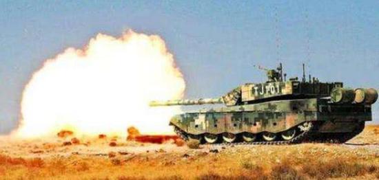 99A坦克射击