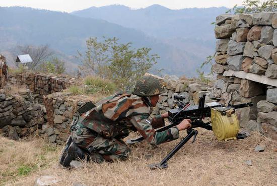 印度边防部队(原料图)