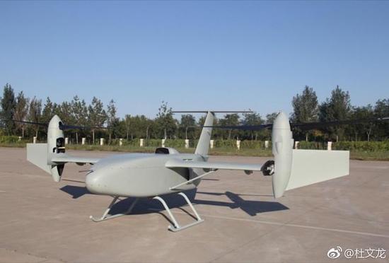 图片:彩虹-10偏转旋翼无人机,新类型机型呼唤新的GJB无人机标准。
