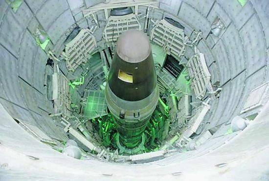 美民兵3洲际导弹临时中止试射 倒计时阶段检出故障