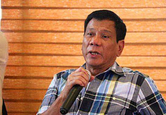 菲律賓總統杜特爾特(資料圖)
