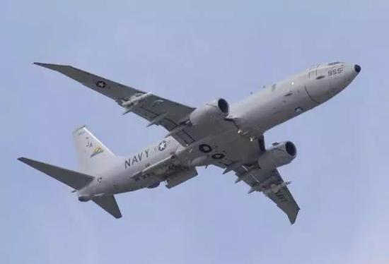 美国已开起服役最新的P-8A