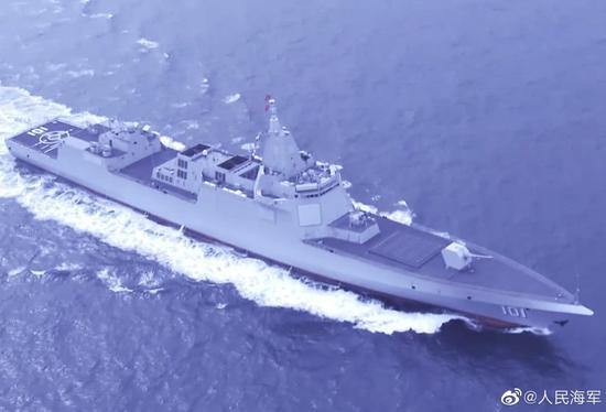 101舰重现!从07变成055驱逐舰见证