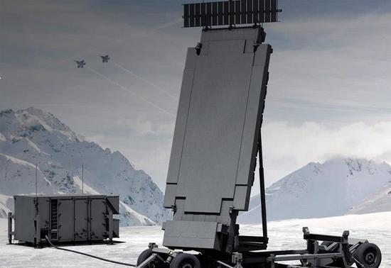 TPY-X雷达防空作战暗示图,清晰针对隐身战机类矮可探测现在的。