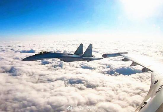 图片:中国空军的苏-35