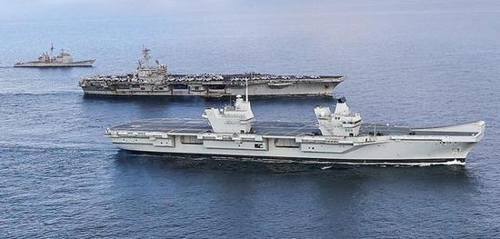 英美航母说相符舰队