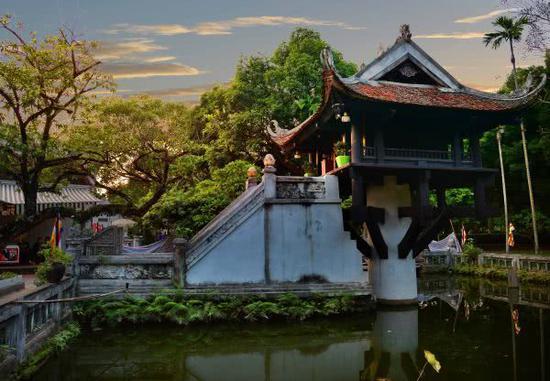 越南首都河内秋天风光(新华社)