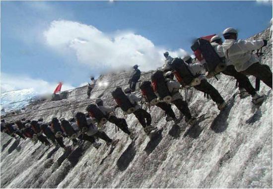 印度山地打击师也大量部署中印边境