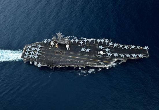 ▲美国海军航母