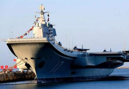 山东舰再次现身台湾海峡震慑了谁?台军监控成笑话
