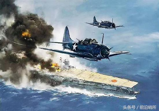 日本大凤号航母漫画图