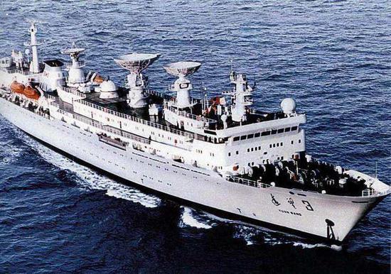 远望3号船圆满完成天链二号01星海上测控任务