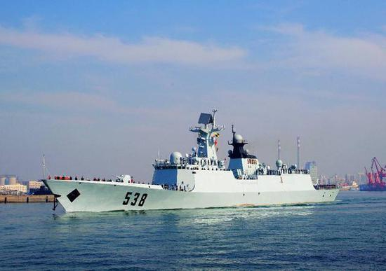 054A型护卫舰烟台舰
