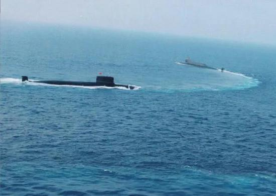 主要是为094战略核潜艇提供远洋安全保障