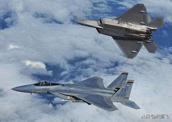 F22和F15同化训练
