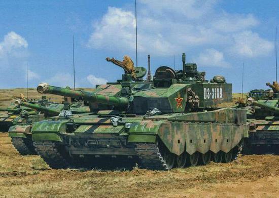 英军演习中国59坦克成假想敌