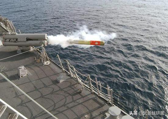 ▲美制mk-46鱼雷