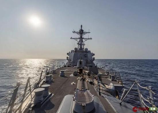 美軍艦闖西沙意欲何為?示好越南租借金蘭灣停航母