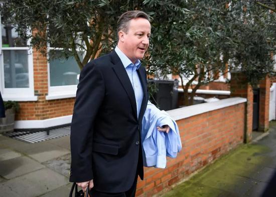 英国前首相卡梅伦。