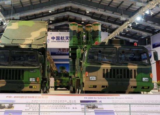 FD-2000防空导弹武器编制