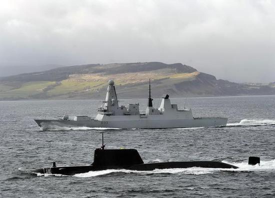 英国45型个机敏级都是专门先辈的舰艇