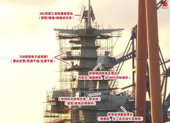 075两栖攻击舰特殊角度曝光 舰岛烟囱格外显眼(图)