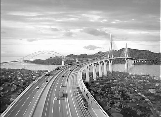 巴拿马运河四桥的完善造就图