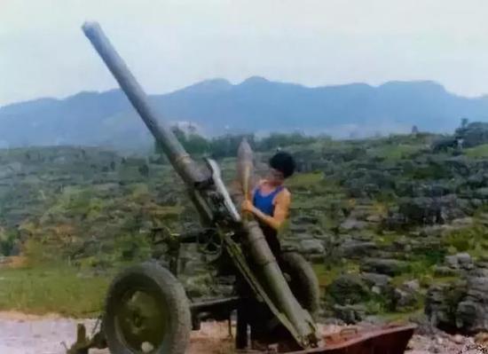 ▲56式迫击炮颇受前面喜欢益