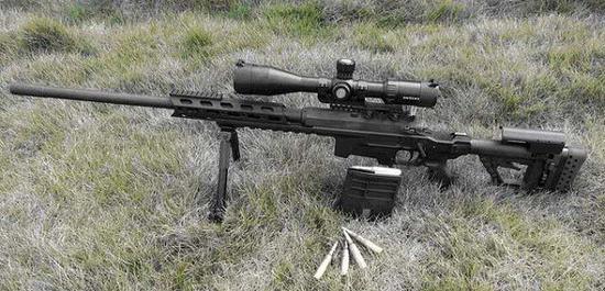 国产8.6毫米高精度击步枪