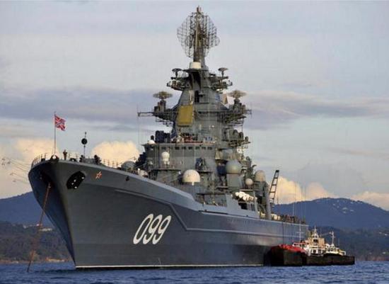 飞行堡垒7_俄军2万吨核巡洋舰战力如何 还不如我军7千吨的052D 中国 导弹 ...