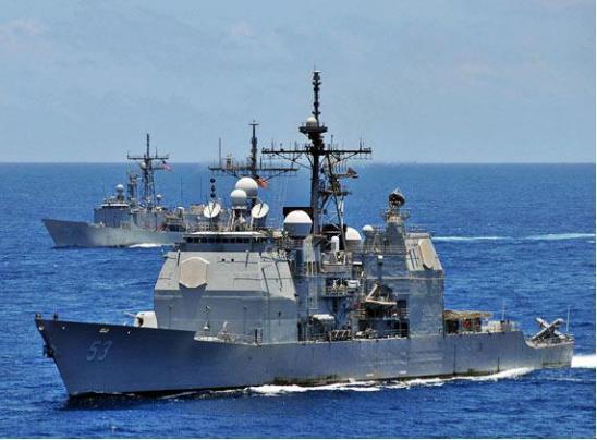 美竭力打造无人化海军一舰艇已测试 宣称针对中国海军