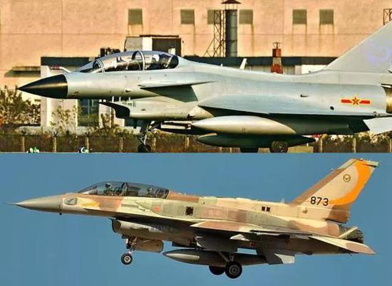 中国领先一步:美战机后座视线受阻 歼10后座可看跑道