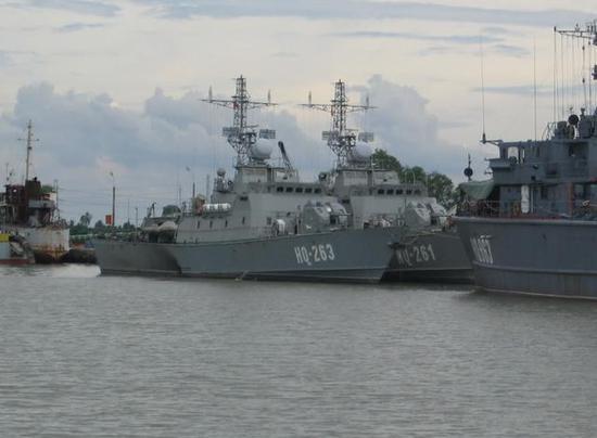 图为越南海军的10412型巡逻艇,该艇由俄罗斯建造并出口。