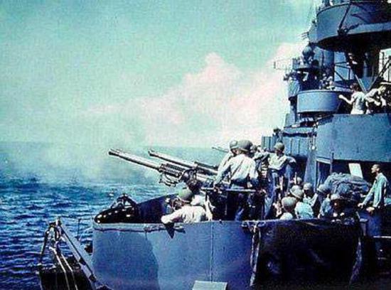 美国的博福斯高炮