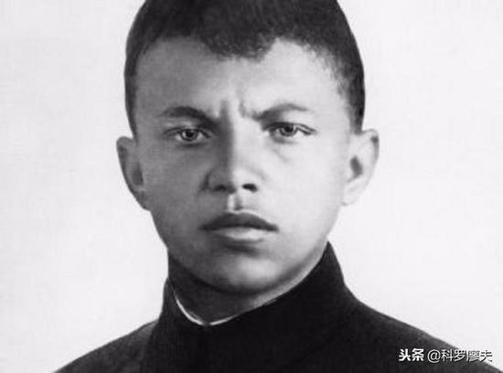 马特洛索夫生前的照片,俄塔社提供的胆敢