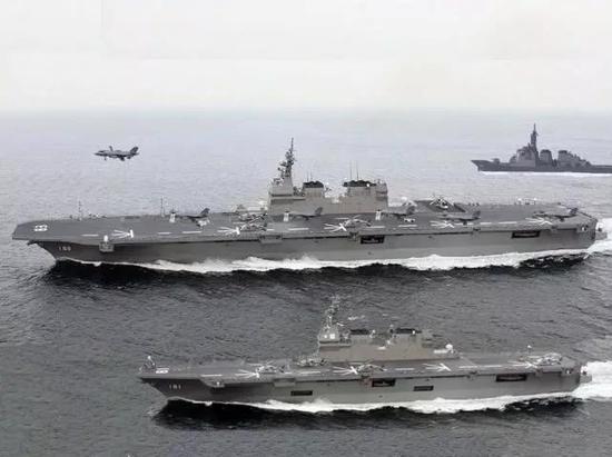 搭载F-35B后日本航母战力将独步亚洲