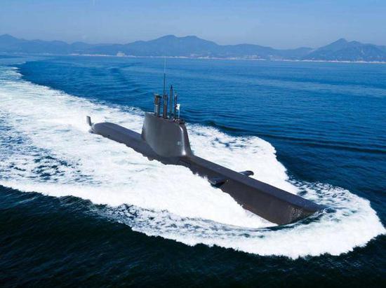 韩国海军212常规潜艇
